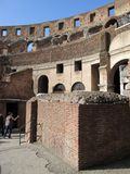 Roman Colosseum Italy Europe-Amphitheater seit Roman Empiren View aus Europa heraus Lizenzfreie Stockfotos