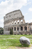 Roman Colosseum in Italy. stock image