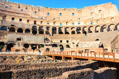 Roman colosseum in Italy Royalty Free Stock Image