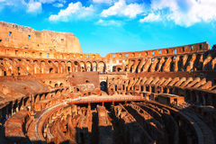 Roman colosseum Italy Stock Photos