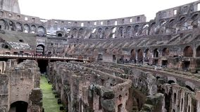 The Roman Colosseum stock video