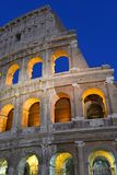 The Roman Colosseum, a place where gladiators fought as well as being a venue for public entertainment, Rome. Italy stock photo
