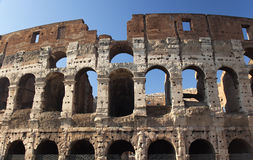 Roman Colosseum Rome Italy Stock Images