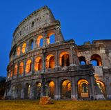 Roman colosseum, Rome, Italy stock photography