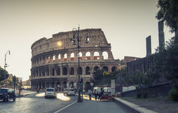Roman Colosseum in Rome,Italy Royalty Free Stock Images