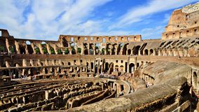 The Roman Colosseum,Rome, Italy Royalty Free Stock Images
