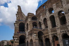 Roman Colosseum, Rome, Italy Stock Photography