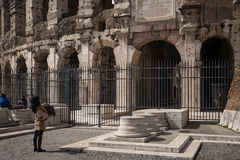 Roman Colosseum, Rome, Italy Royalty Free Stock Images