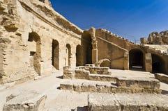 Roman Colosseum in Tunesië Stock Afbeelding
