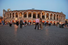 Roman colsseum Royalty Free Stock Image