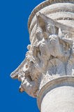 Roman column. Brindisi. Puglia. Italy. Royalty Free Stock Photos
