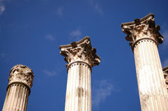 Roman column in Cordoba Royalty Free Stock Photo