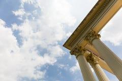 Roman column head. Royalty Free Stock Images