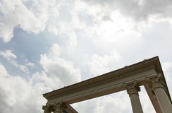 Roman column head. Stock Image