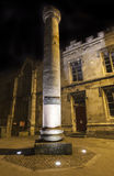 Roman Column i York Arkivbilder