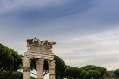Roman column, Rome, Italy Royalty Free Stock Image