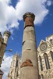 Roman Column in York Royalty Free Stock Photography