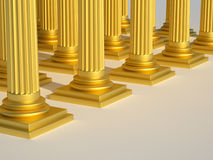 Roman columns Royalty Free Stock Images