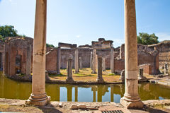 Roman columns Stock Photos