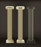 Roman Columns Royaltyfri Foto