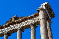 Roman Columns antico, Roma, Italia Fotografia Stock Libera da Diritti