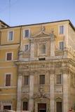 Roman columns as part of building fa�ade, Rome, Italy, Europe Royalty Free Stock Photos