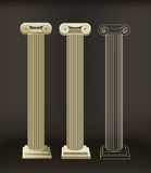 Roman Columns Royalty Free Stock Photo