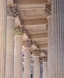 Roman Columns - Generic. Generic Roman column architecture in Saint Petersburg, Russia Royalty Free Stock Photo
