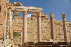 Roman columns, Libya Royalty Free Stock Photos