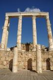 Roman columns, Libya Royalty Free Stock Image