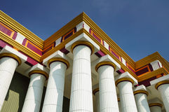 Roman columns Royalty Free Stock Photos