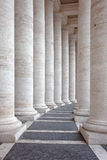 Roman columns. Roman marble columns at sunset Royalty Free Stock Photos