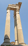 Roman Columns near the Marcello Theatre Royalty Free Stock Photography