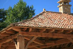 Roman construction Stock Photo