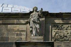 Roman deity Goddess Angitia Stock Images