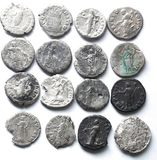 Roman denarius Stock Photography