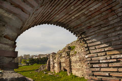 Roman Edifice,  part of Old Town of Constanta, Romania Royalty Free Stock Photography