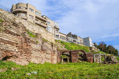 Roman Edifice,  part of Old Town of Constanta, Romania Stock Photography