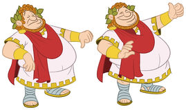 Roman emperor Royalty Free Stock Image