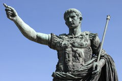 Roman emperor Augustus. Symbol of power Stock Photography