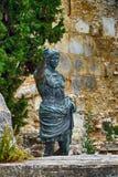 Roman Emperor Augustus, Nimes, France Stock Photo