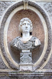 Roman emperor bas relief Royalty Free Stock Images