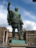 Roman Emperor Caesar Augustus Stock Photo
