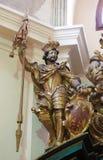 Roman Emperor Ferdinand santo en Loreta, Praga fotografía de archivo