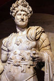 Roman emperor Hadrian. 2nd century CE, statue from Perge  in  Turkey Stock Photo