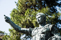Roman Emperor Caesar Giuglio Royalty Free Stock Photography