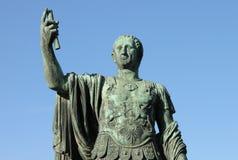 Roman emperor Nerva. Symbol of power Royalty Free Stock Photos