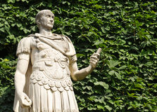 Roman emperor. Statue of Roman emperor in the Jardin des Tuileries, Paris, France Royalty Free Stock Photography
