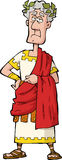 The Roman emperor royalty free illustration