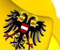 Roman Empire Flag saint 1437-1493 illustration stock